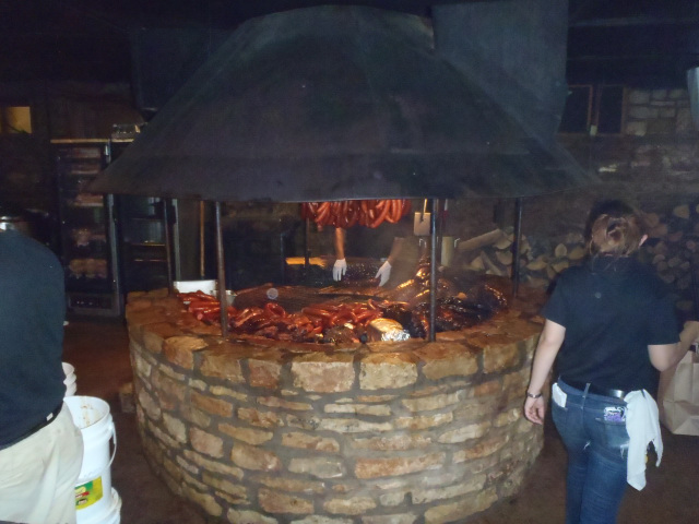 Salt Lick's indoor pits