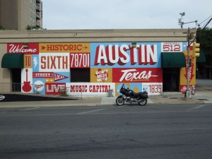 6th Street in Austin. Not far from BBQ heaven
