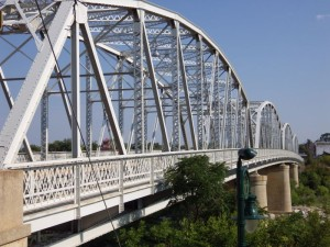 Llano river bridge