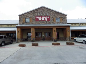Big Horn is a gas station, gift shop, and BBQ joint