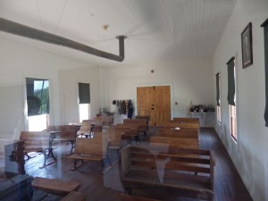 The one room schoolhouse LBJ attended