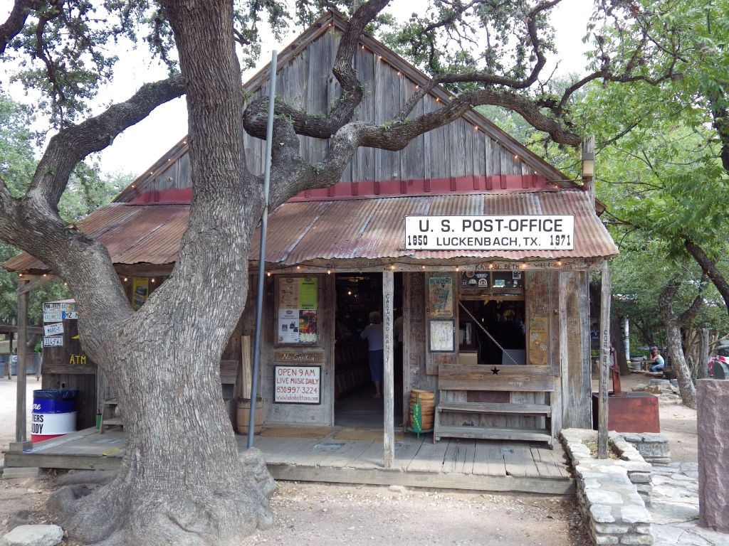 The old Post Office at Luckenbach