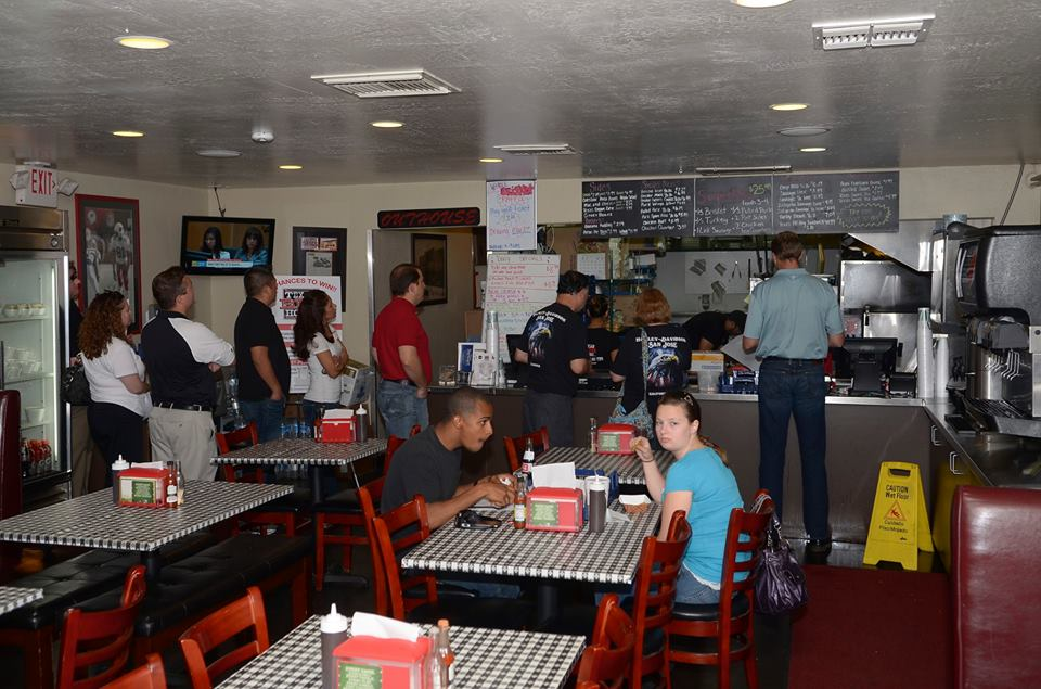 Inside Texas BBQ House. Photo courtesy of Texas BBQ House