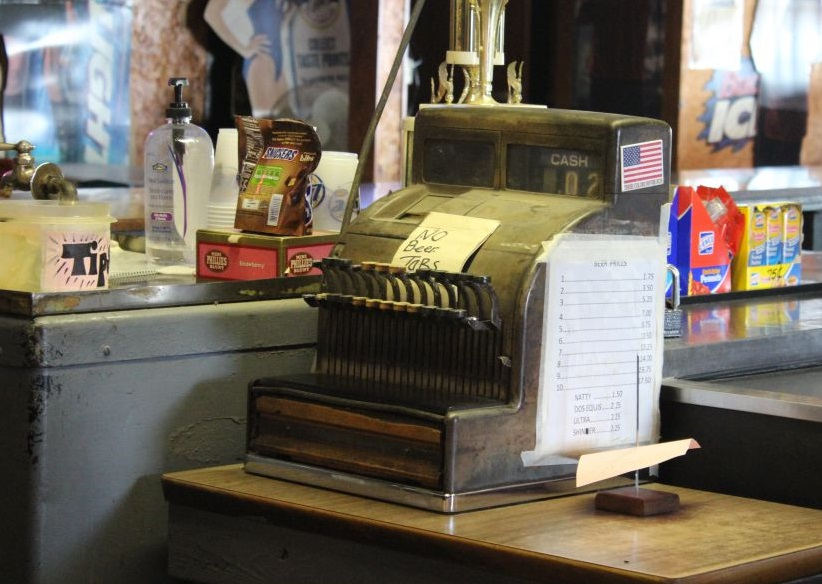 Cash Register at Taylor Cafe
