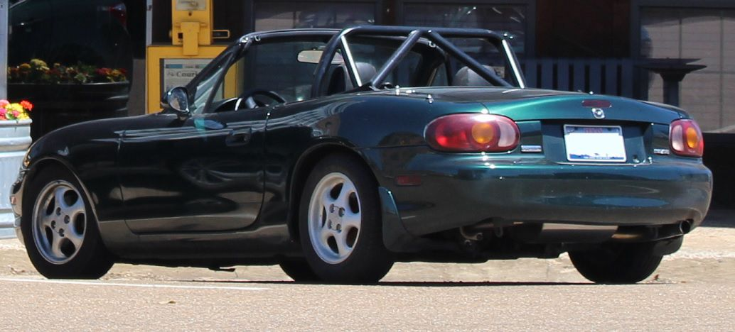 The BBQ mobile - Mazda Miata