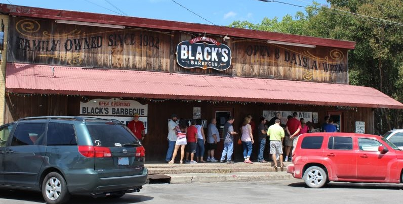 Black's Barbecue building
