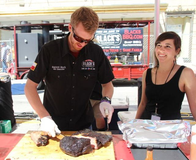 Barrett and Becky Black of Black's Barbecue