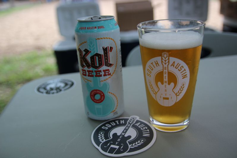 South Austin Brewery was one of seven craft breweries on site