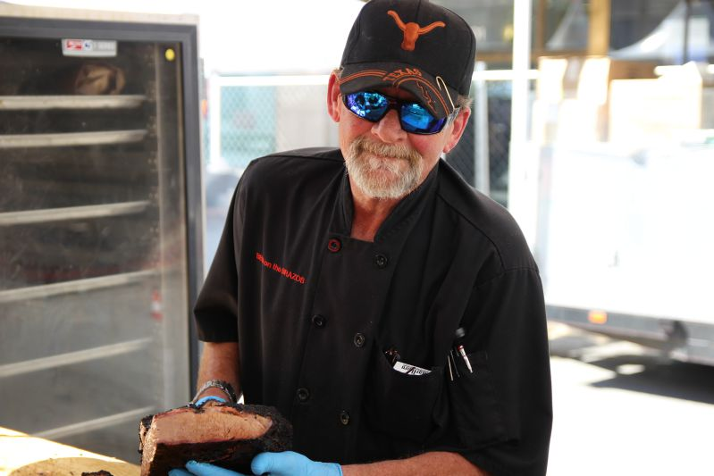 John Sanford from BBQ on the Brazos