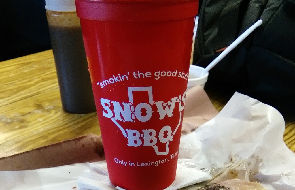 Snow's keepsake cup