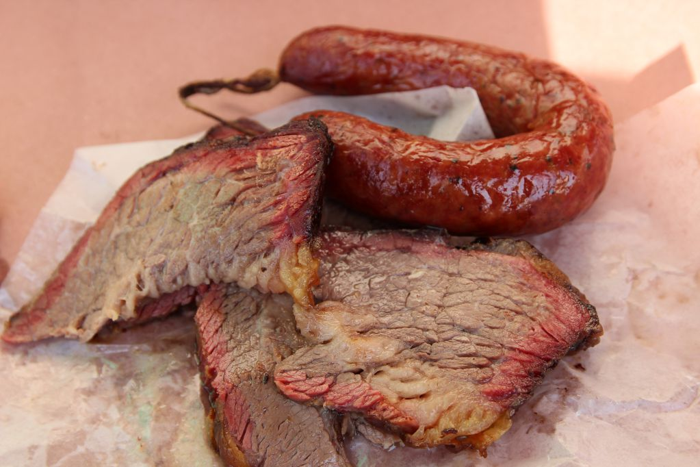 Brisket at City Market Luling