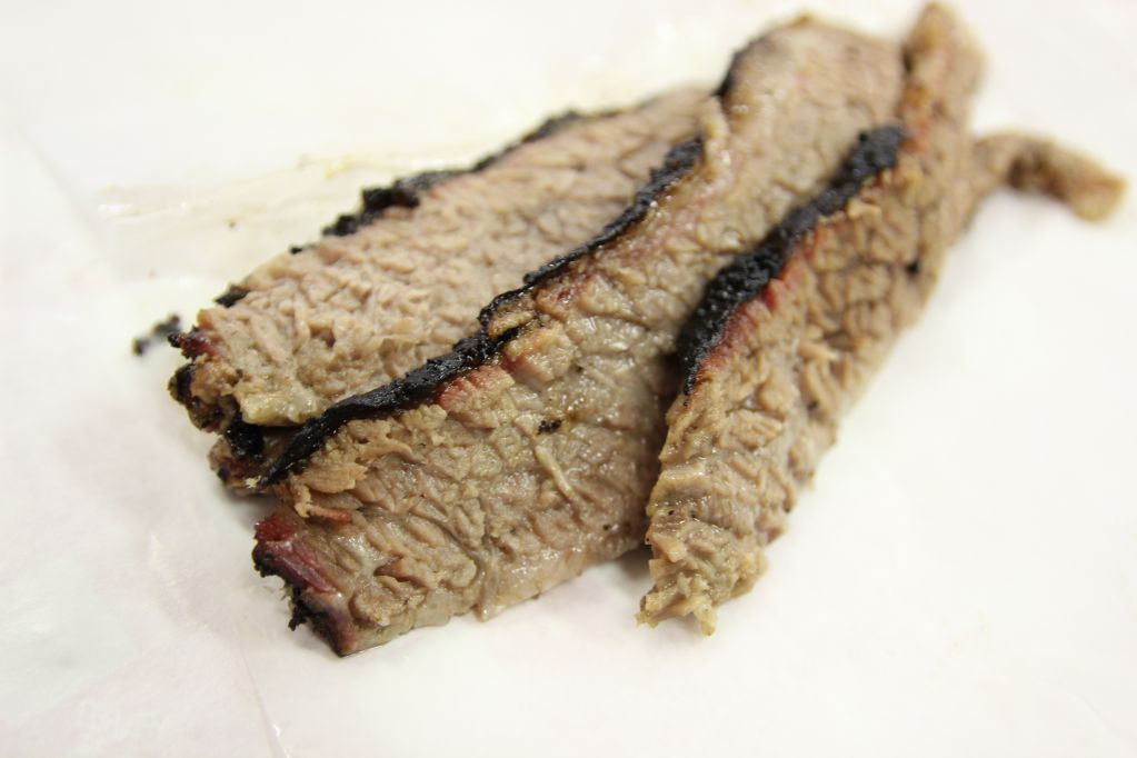 Brisket from Rudy's