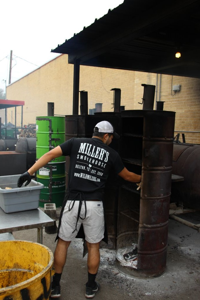 Miller's Smokehouse drum smokers