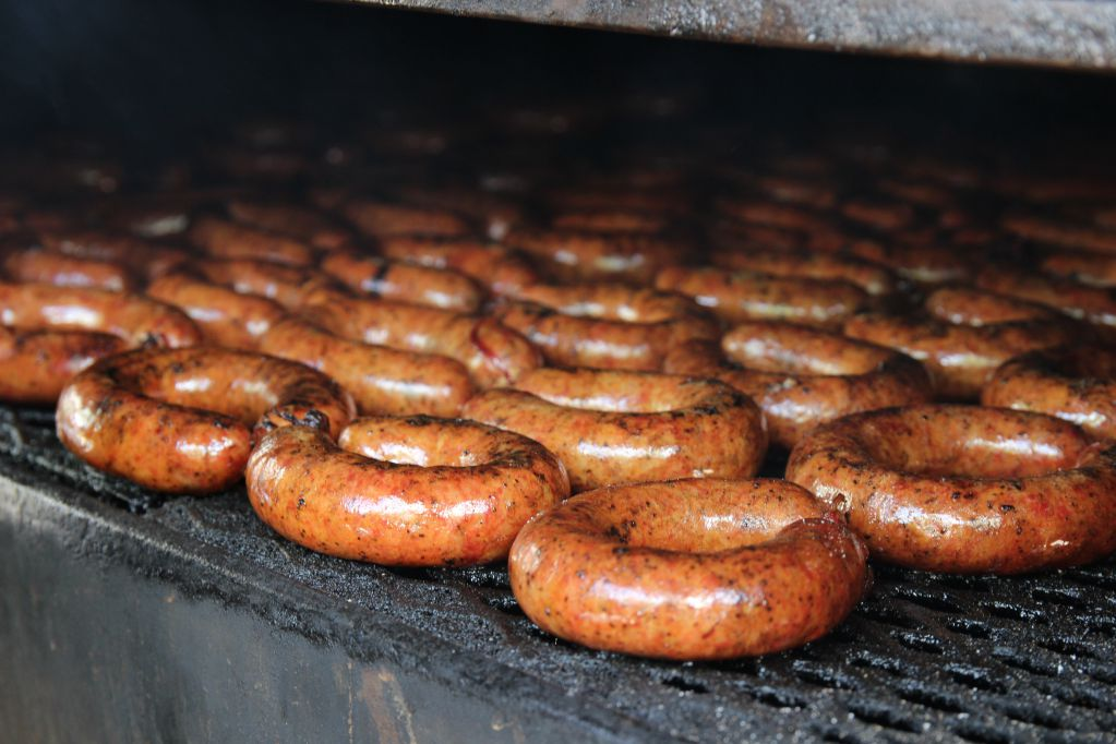 Sausage from Hays County Barbeque