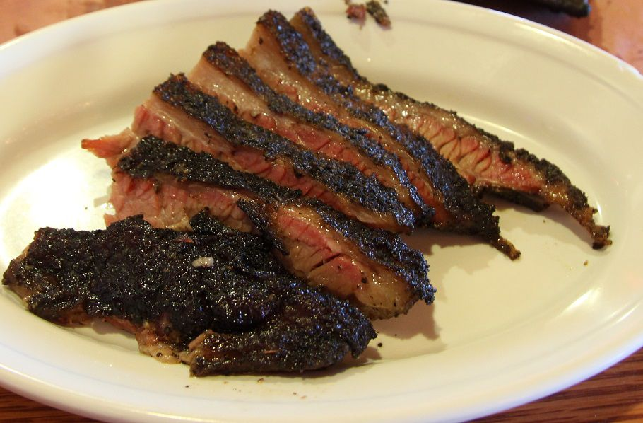 Brisket from Spring Creek Barbecue