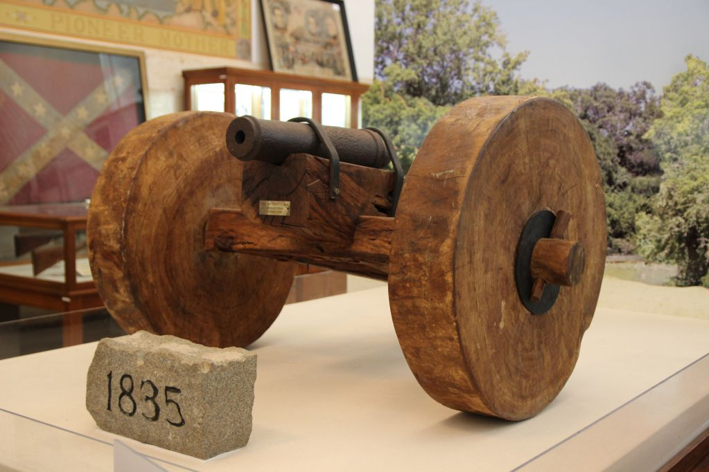 "The ""Come and Take it"" cannon"