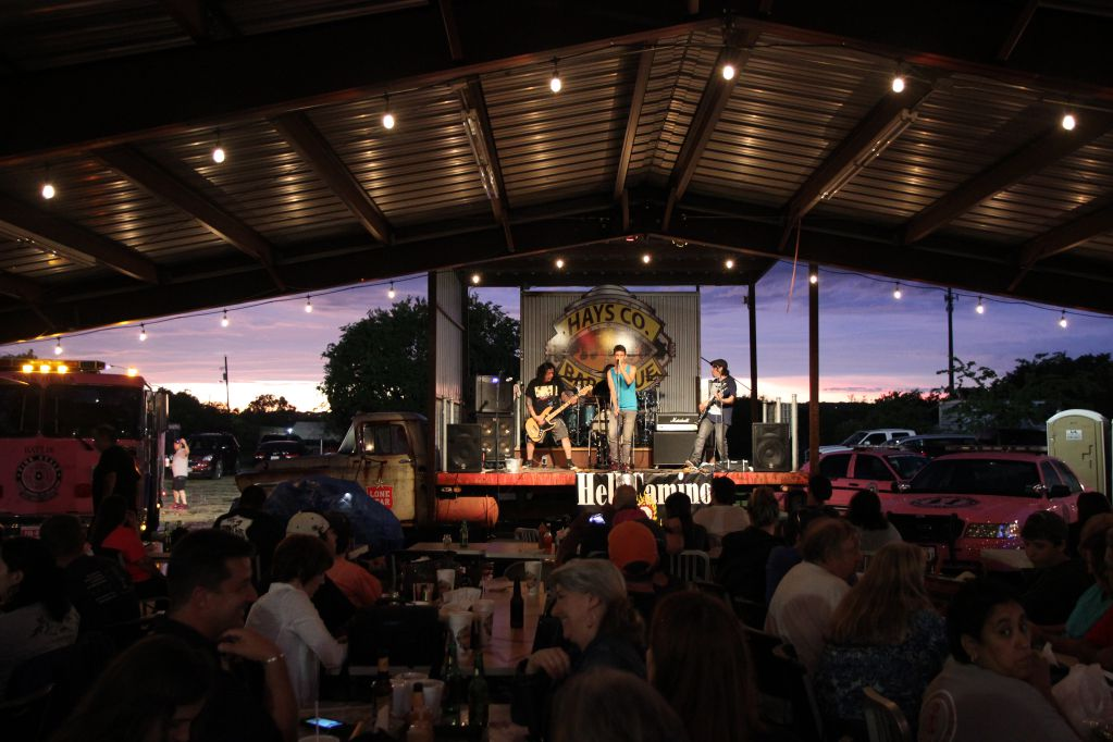 Hell Camino performing at Hays County Barbeque