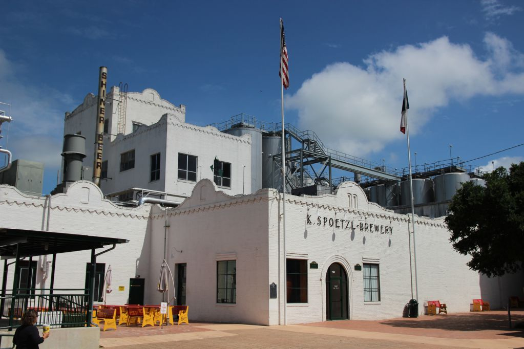 The Spoetzl brewery, where Shiner is brewed and bottled