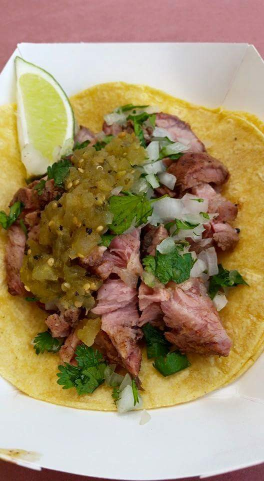 Tri tip taco with 44 farms beef Photo by JR Cohen