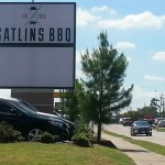 Gatlin's BBQ sign