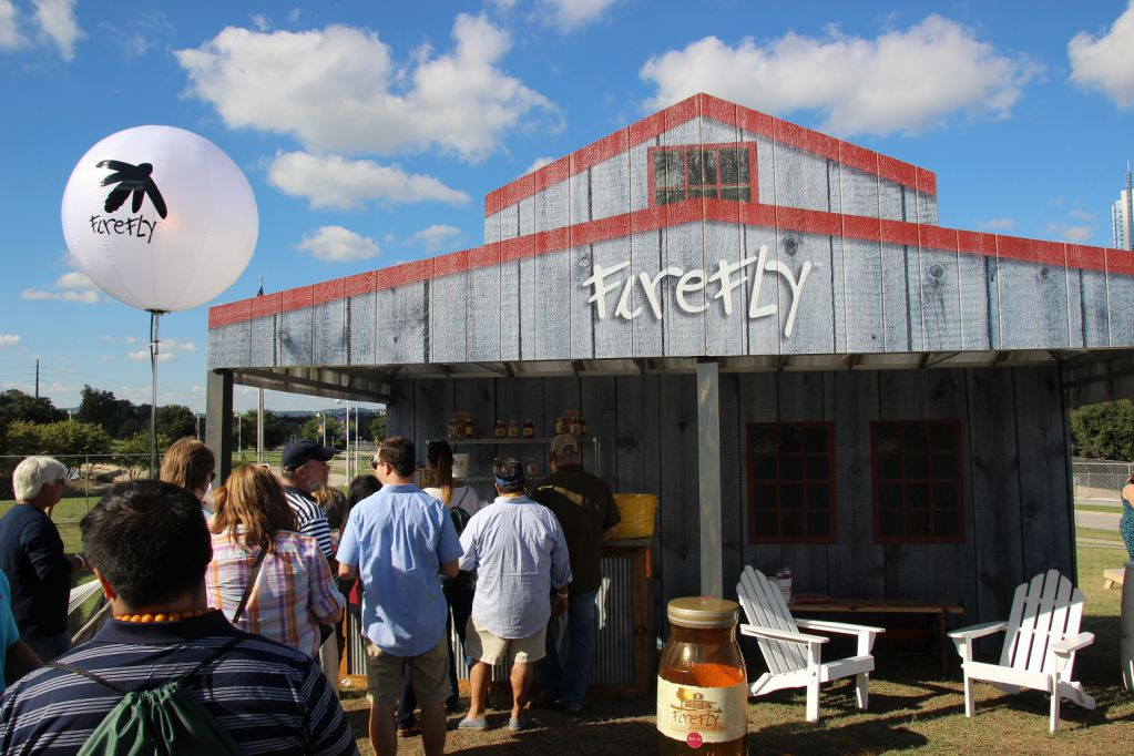 Firefly moonshine at TMBBQ 2015