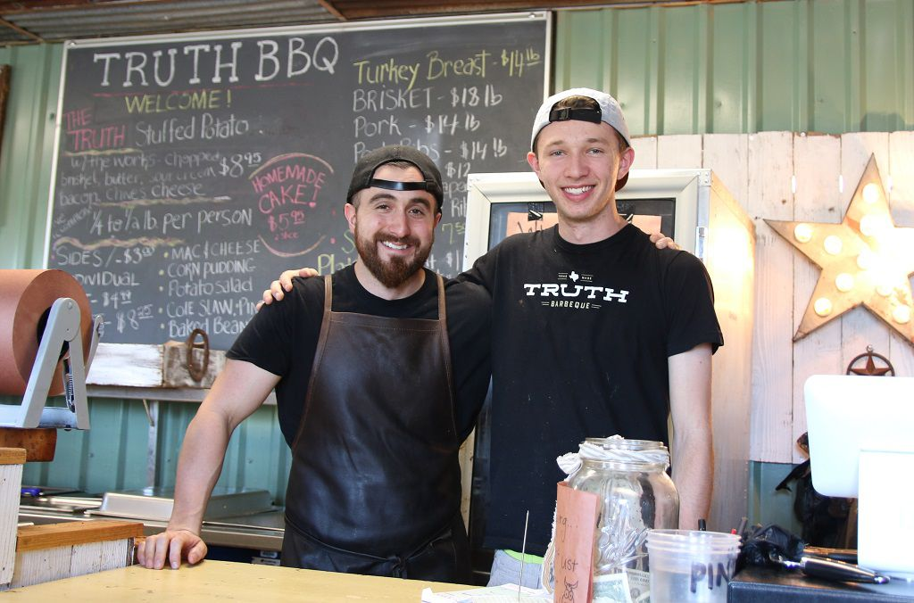 Leonard and Brandon Botello of Truth BBQ
