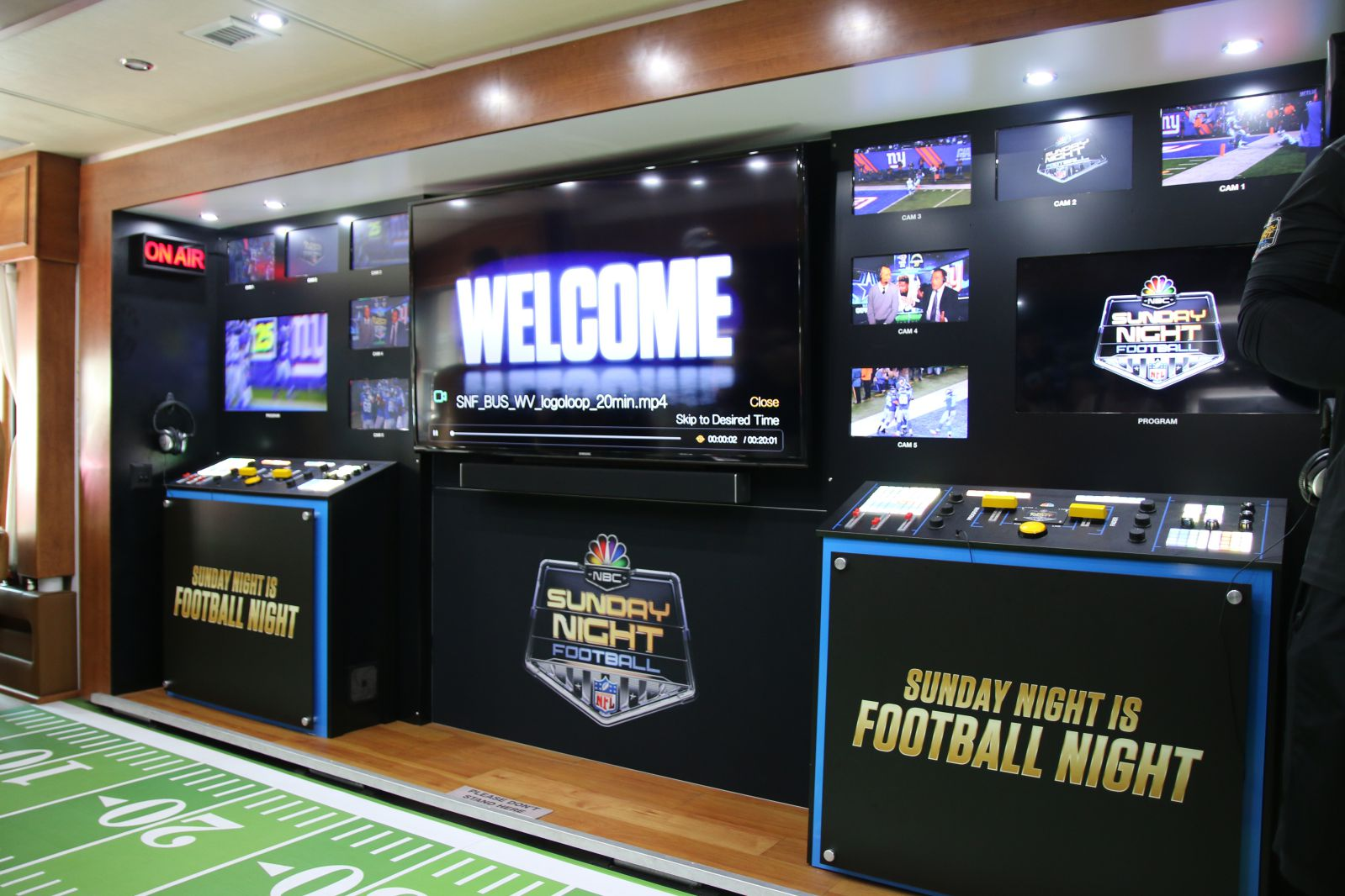 Inside the SNF bus at Smoked Dallas 2016