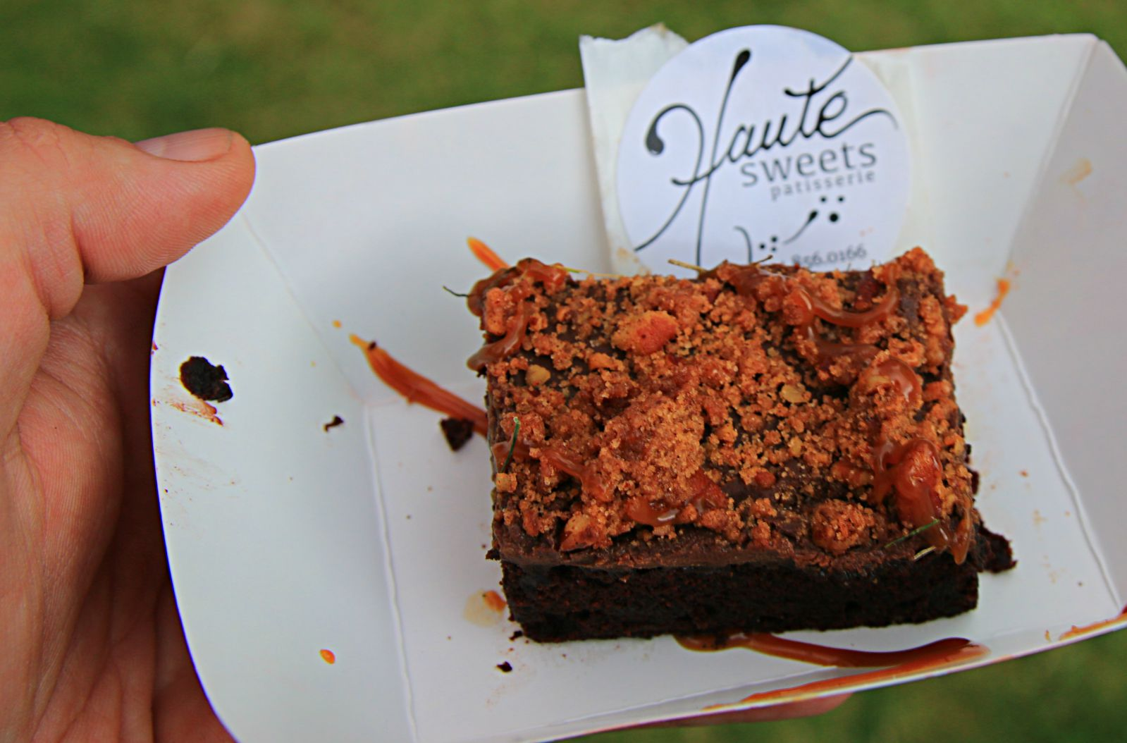 Haute sweets provided dessert at Smoked Dallas 2016