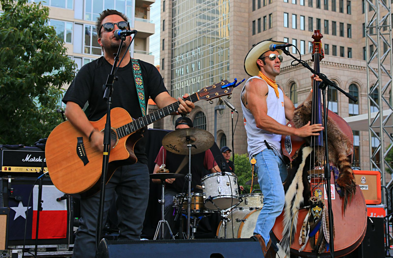 Dirty River Boys performing at Smoked Dallas 2016