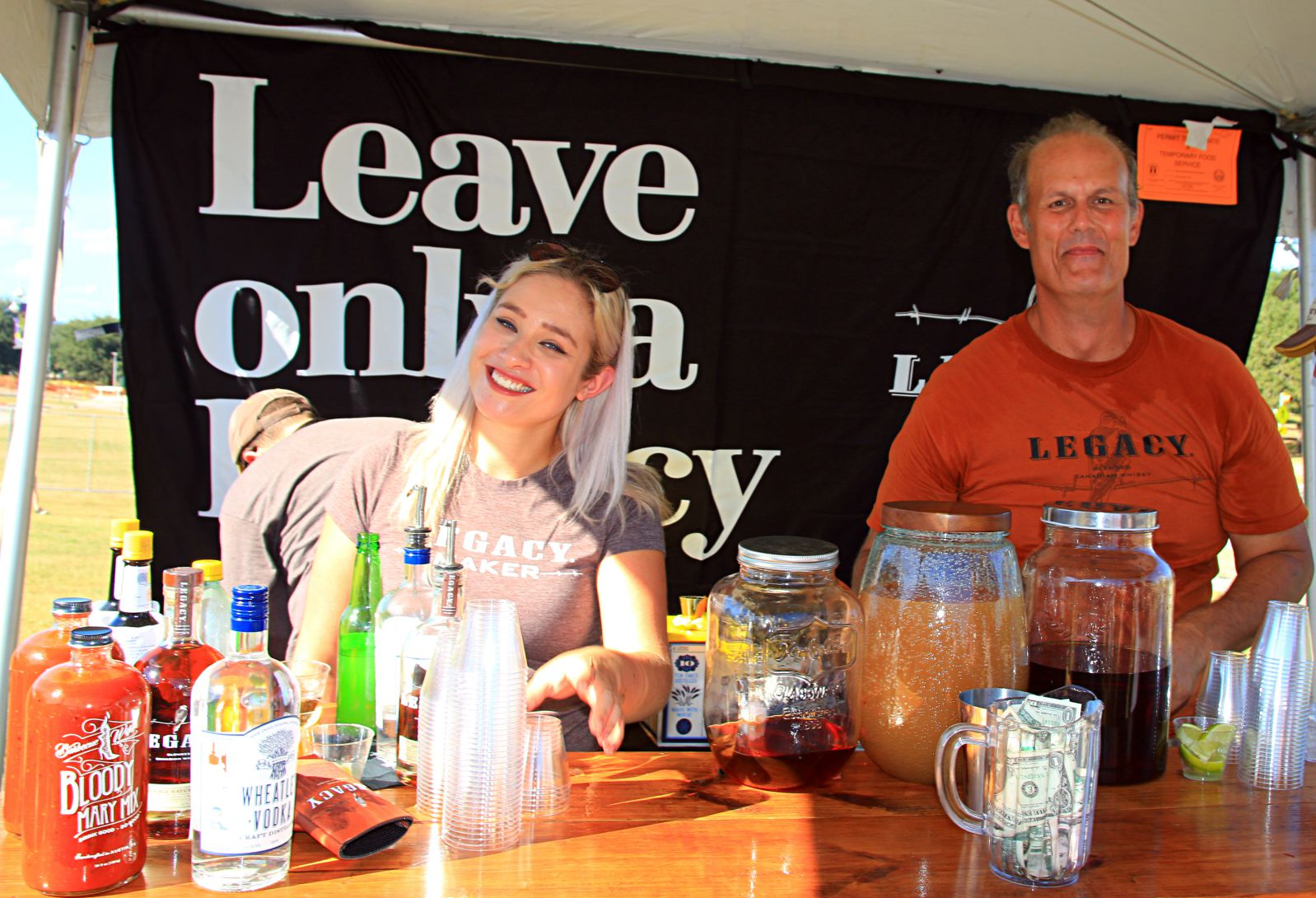Legacy Whiskey served up samples at Texas Monthly BBQ Fest 2016